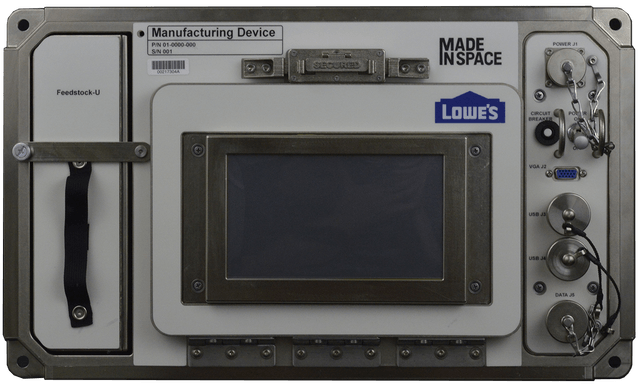3d printed tools in space iss amf halo trans