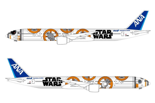 anas r2 d2 jet will be the closest to flying in a star wars spacecraft ana bb8 777