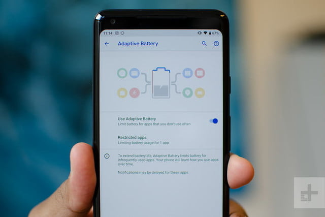 android 9 pie adaptive battery