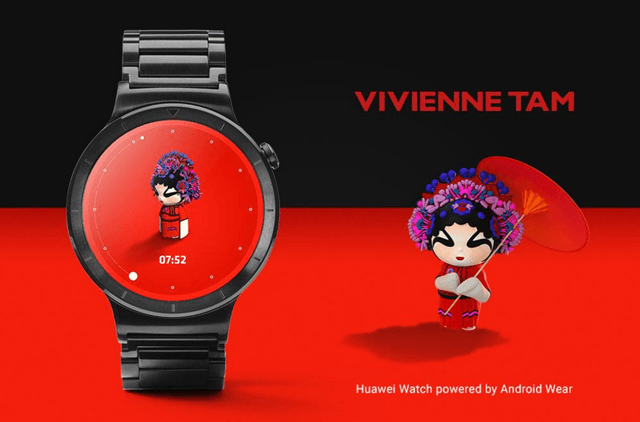 google brand name watch faces android wear vivienne tam