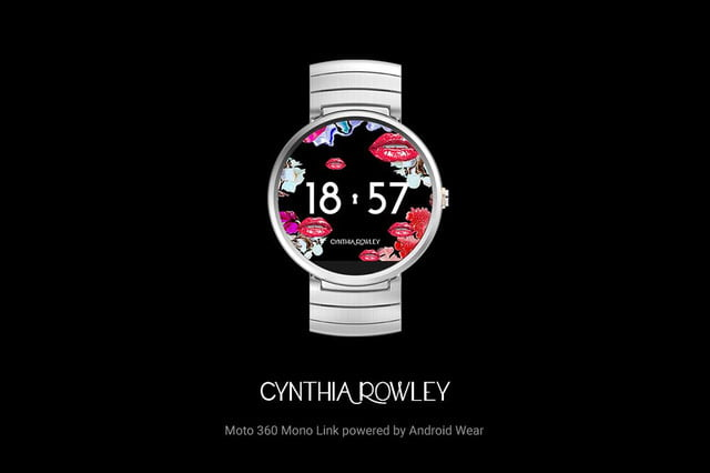 android wear 17 new watch faces androidwear cynthiarowley 1000x666