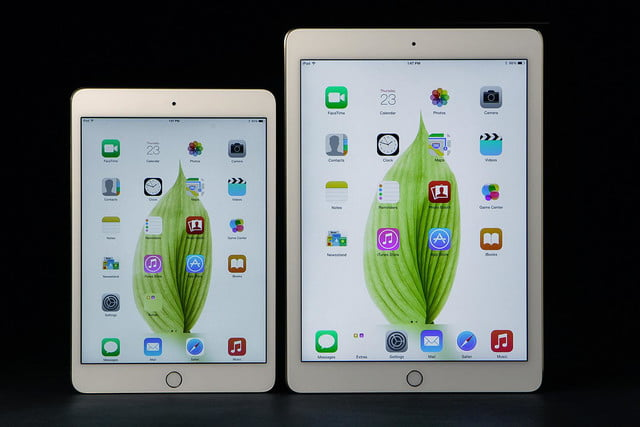 Apple iPad Air 2 mini 3 screens