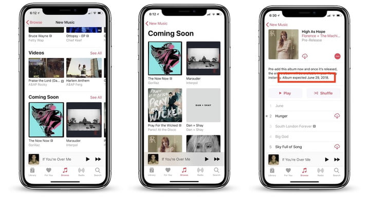 apple music update coming soon