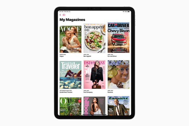 apple news plus magazines ipad screen 03252019
