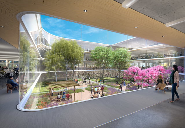 apple planning for second spaceship campus in silicon valley 5