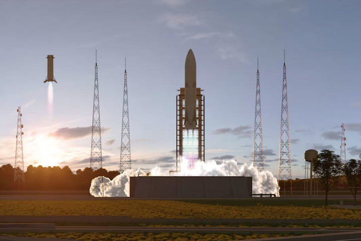 french space agency unveils reusable rocket arianeworks