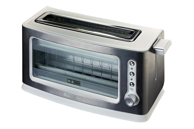 transparent toaster ariete look toast 111