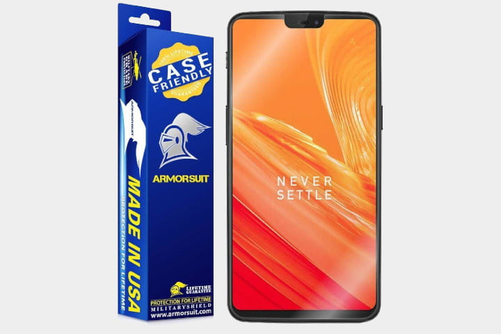 best oneplus 6 screen protectors armorsuit