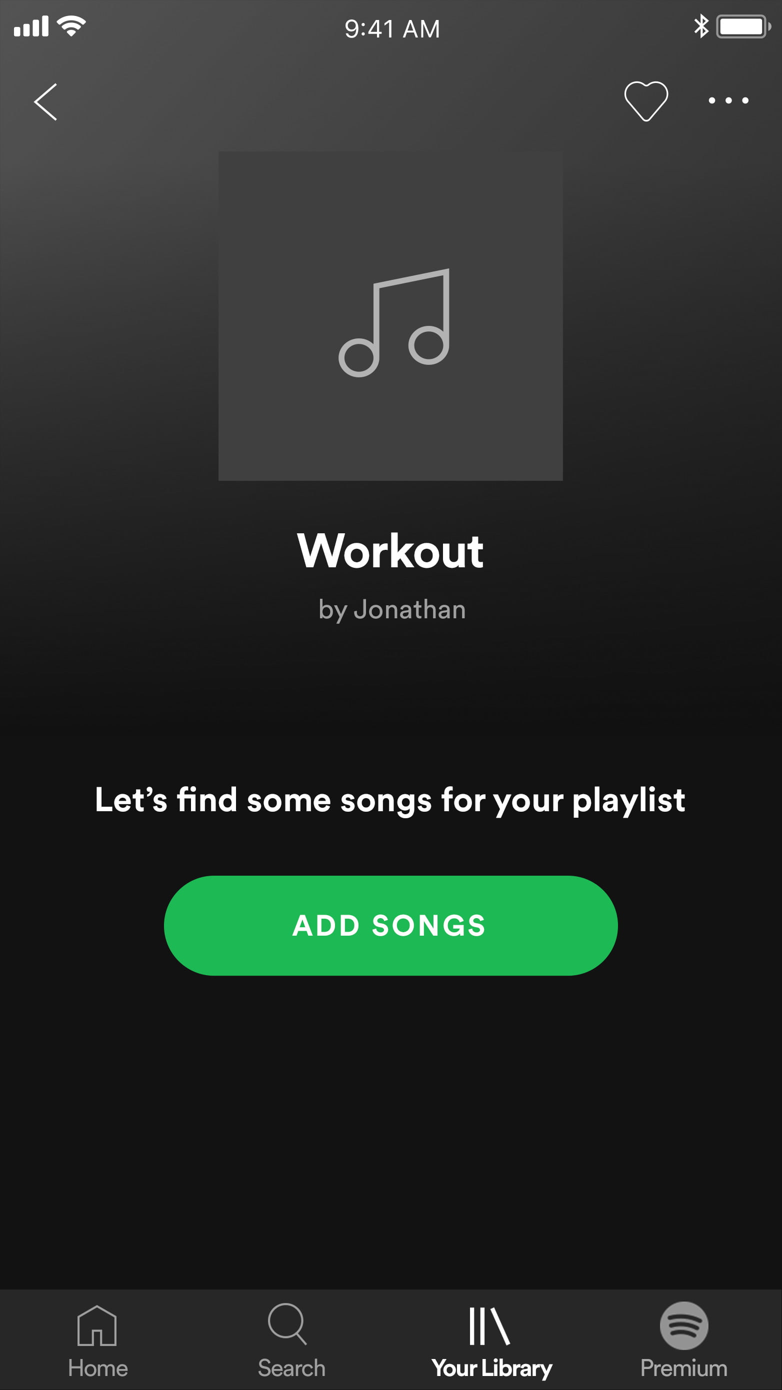 how to add songs to spotify mobile