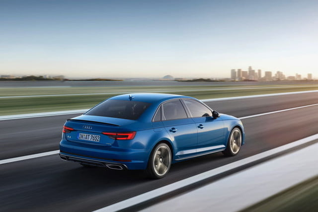 2019 Audi A4 European Market Version