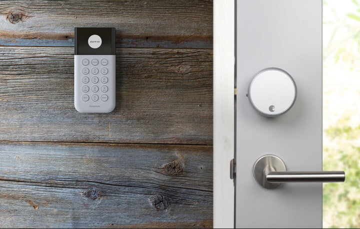 Simplisafe Is Now Compatible With August Smart Lock Digital Trends