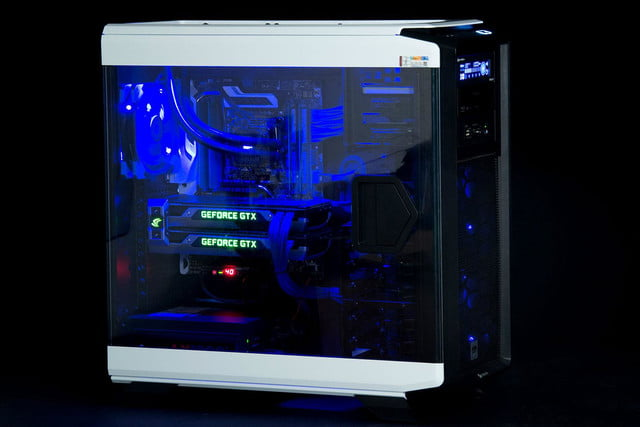 avadirect x99 gaming system ava direct corsair side window