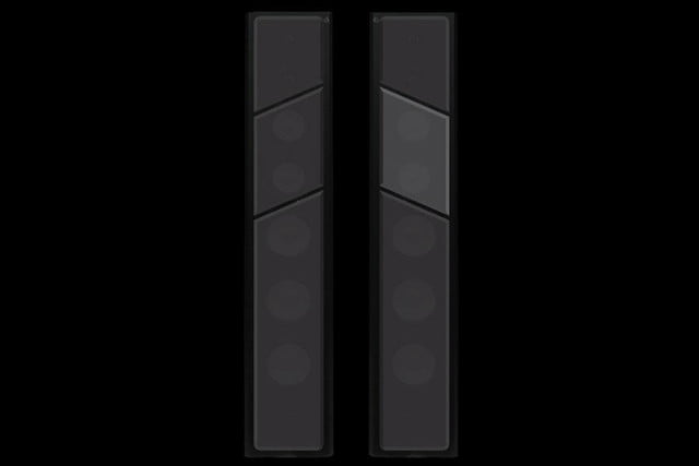 Axiom LFR1100 Floorstanding Speakers Black Oak optional grilles