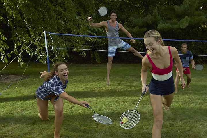 best outdoor yard games badminton