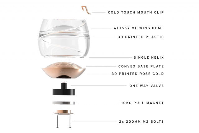 ballantines has invented a zero gravity whisky glass so you can get buzzed in space 002