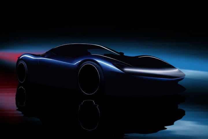 Pininfarina Battista is a 1,900-horsepower, 250-mph electric supercar