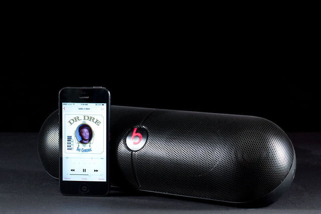 Beats By Dre PillXL phone scale