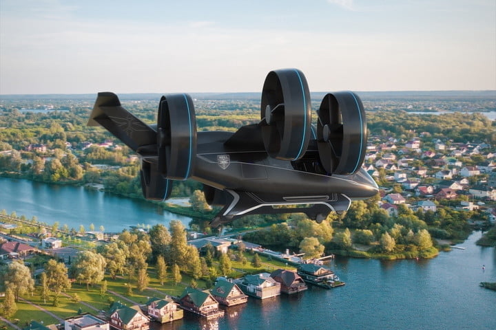 bell nexus flying taxi ces 2019