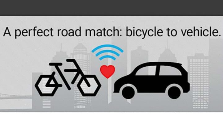 Bike to Vehicle (B2V) AI