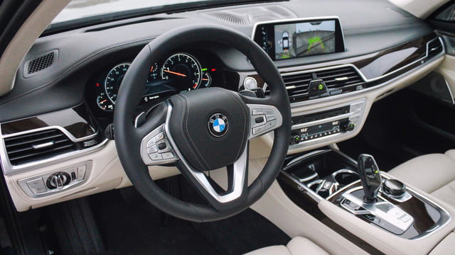 BMW 750i – All of it.