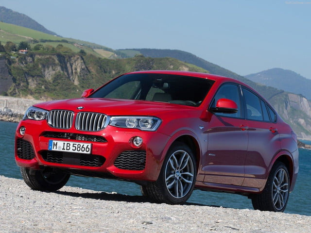 BMW X4 front angle