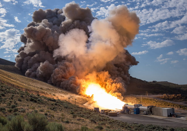 nasa sls booster test utah june 2016 for space launch system rocket