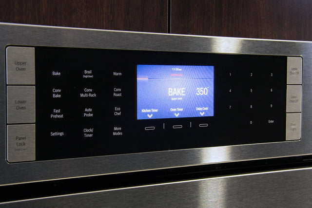 Bosch HBLP651LUC oven review LCD display