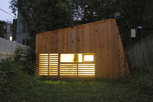 retreat from society and relax in these idyllic cabins around the world brooklyn garden studio 1