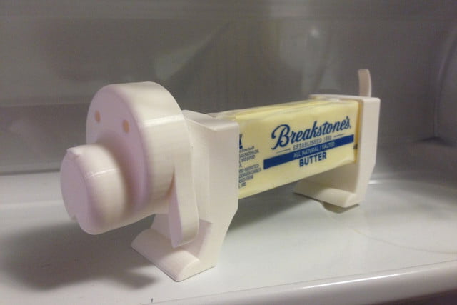 cool things to 3d print butter buddy
