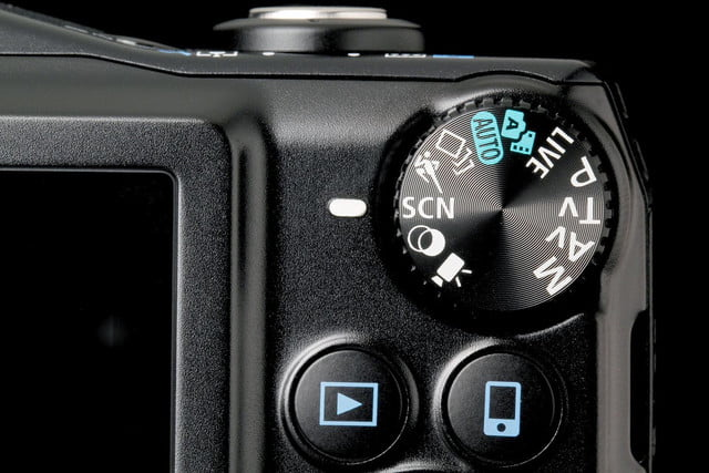 Canon PowerShot SX700 side dial