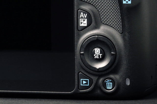 Canon Rebel SL1 secondary controls