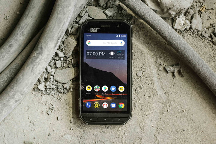 Cat S48c Rugged Smartphone Launched On Sprint Digital Trends