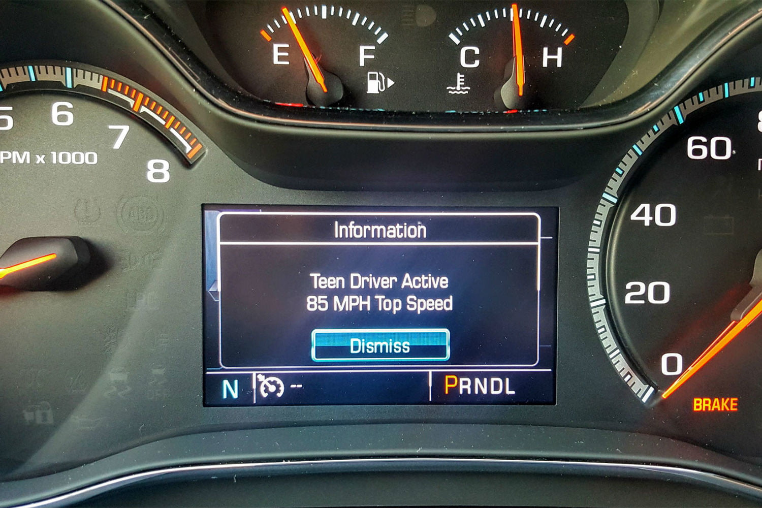 Chevrolet Teen Driver And Safe Driver Technology Hands On