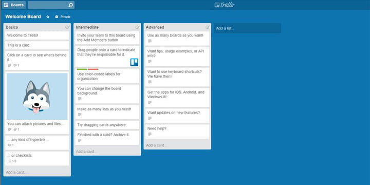 best productivity apps for chromebook trello