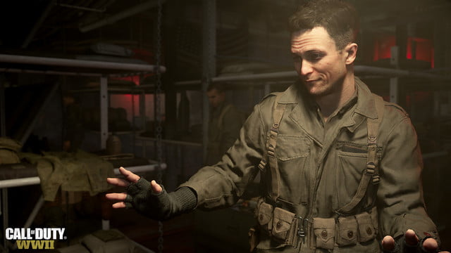 Call of Duty: WW2 review soldier right