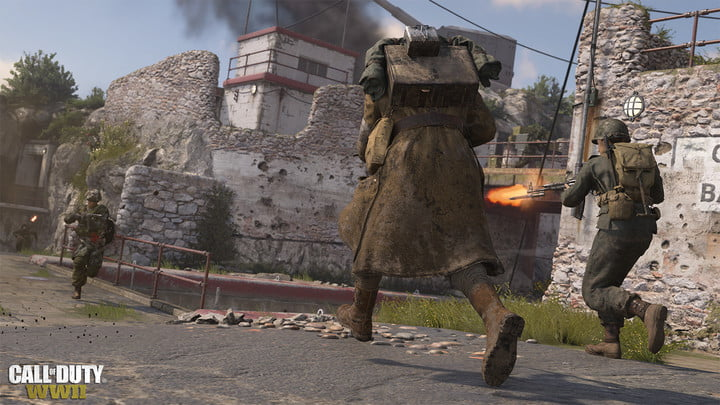 Call of Duty: WW2 review running