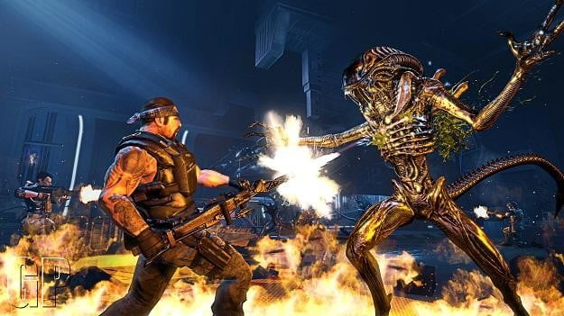 aliens colonial marines marines1