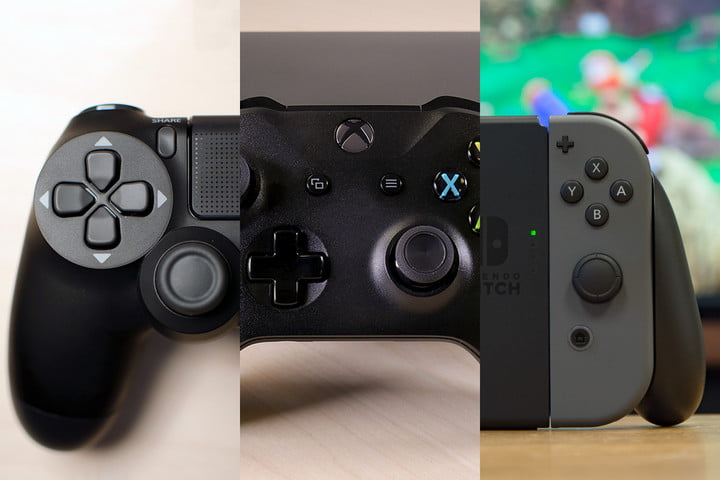 Nintendo Switch vs Sony Playstation 4 vs Microsoft Xbox One
