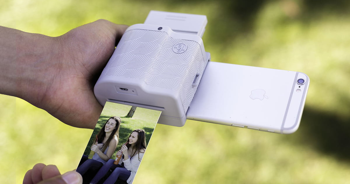 Polaroid Camera That Attaches To Iphone