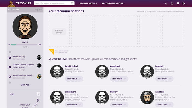 croovies movie ratings and recommendations screenshot 5