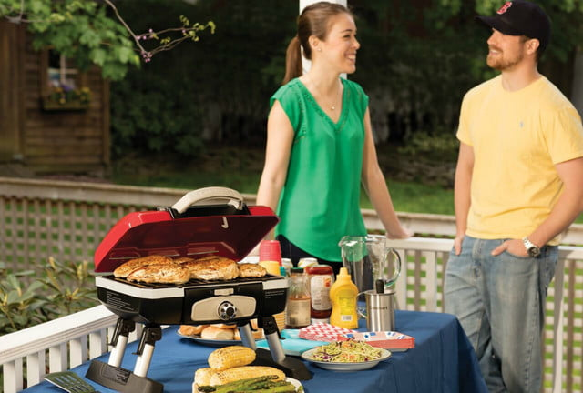 amazon drops prices for cuisinart grills smokers and bbq accessories cgg 180t petit gourmet portable tabletop gas grill 3