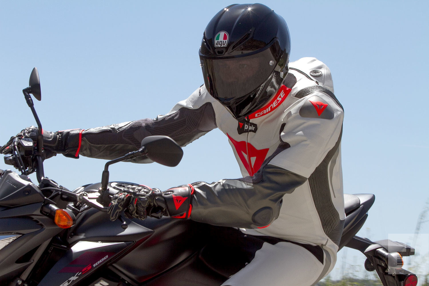 eb2a5ccf Dainese's Custom Works motorcycle suit is one even Iron Man would envy