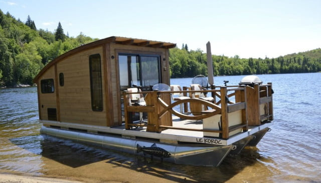 daigno solar powered houseboat 03