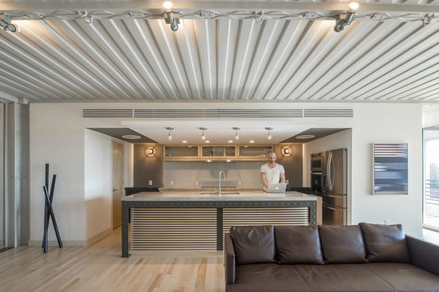 this shipping container home is super luxurious dallas inside