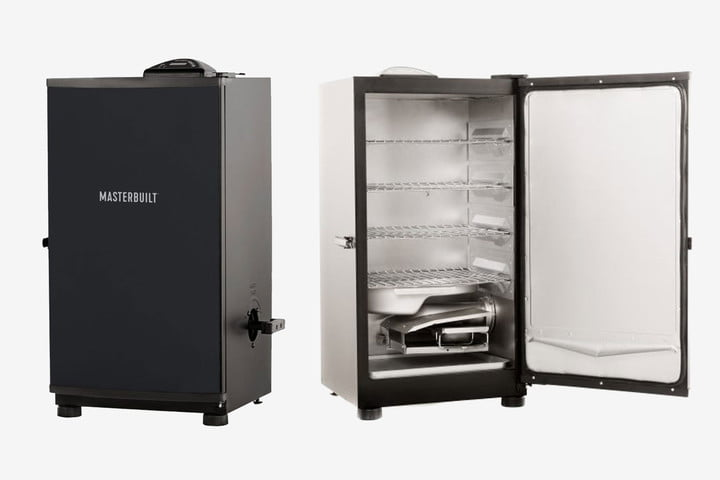 Get cooking with a Masterbuilt meat smoker grill, now $230 off