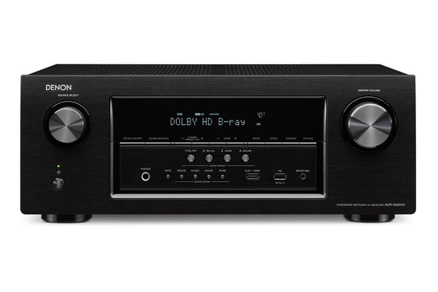 denon destroys price barriers 250 av receiver armed bluetooth 4k s900w front