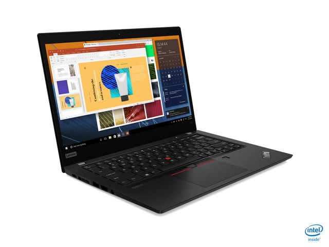 lenovo announces new thinkpad l x and t models for 2020 05 x13 black hero intel front facing right