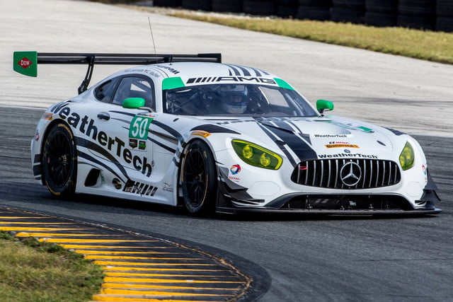 Mercedes-AMG GT3 Daytona test, November 2016