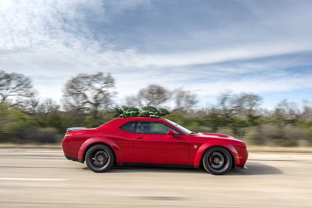 hennessey and dodge takes record for worlds fastest christmas tree 174mph 03