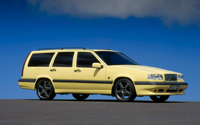 favorite station wagons from history 1995 volvo 850 t5 r wagon front three quarter